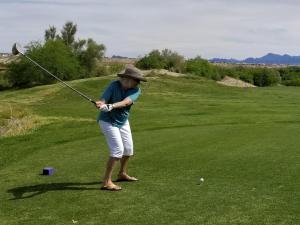 Refuge Golf Course - Cheryl